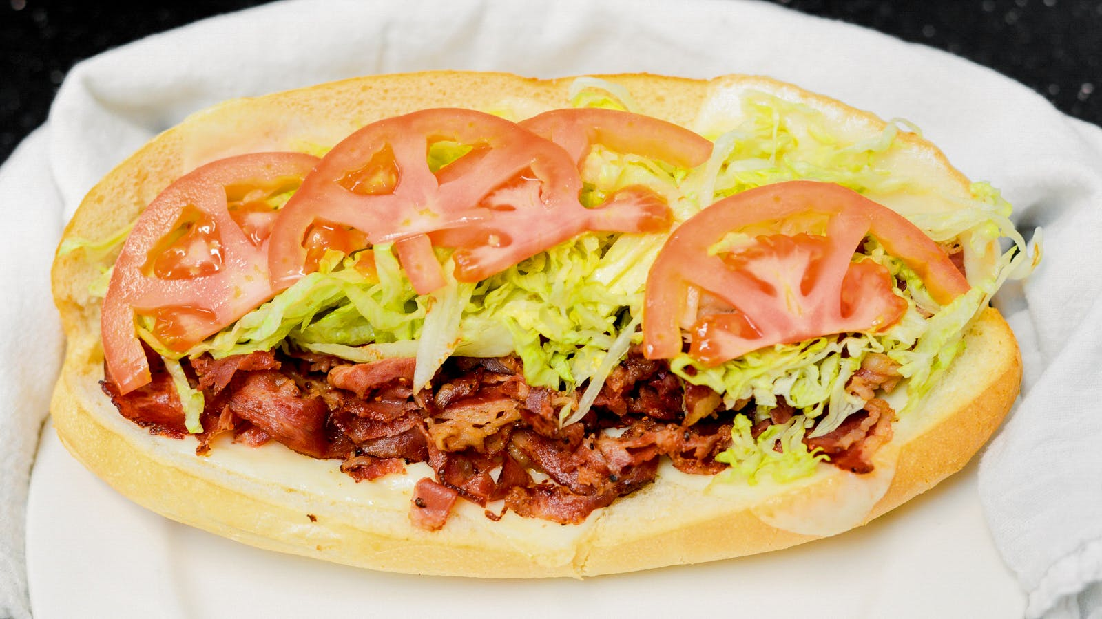 Hot Pastrami Sandwich from Ameci Pizza & Pasta - Lake Forest in Lake Forest, CA
