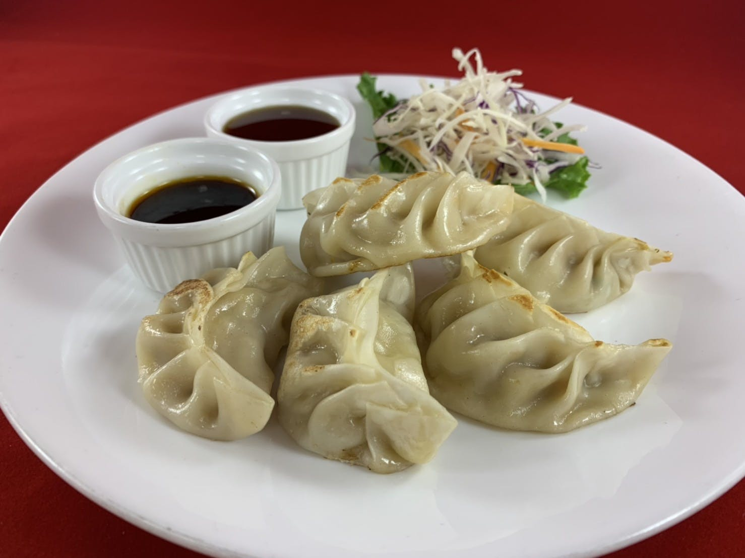 10B. Pot Sticker (Dinner) from Sa-Bai Thong - University Ave in Madison, WI