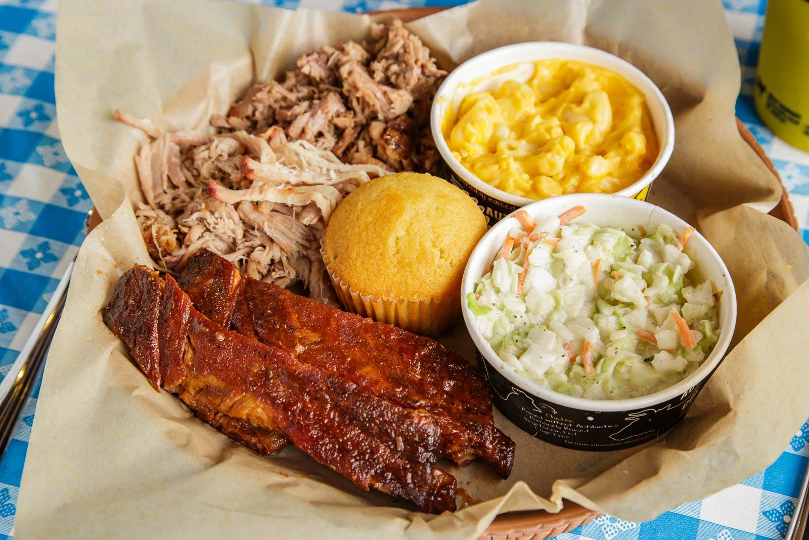 3 Meat Plate from Dickey?s Barbecue Pit - San Marcos in San Marcos, CA