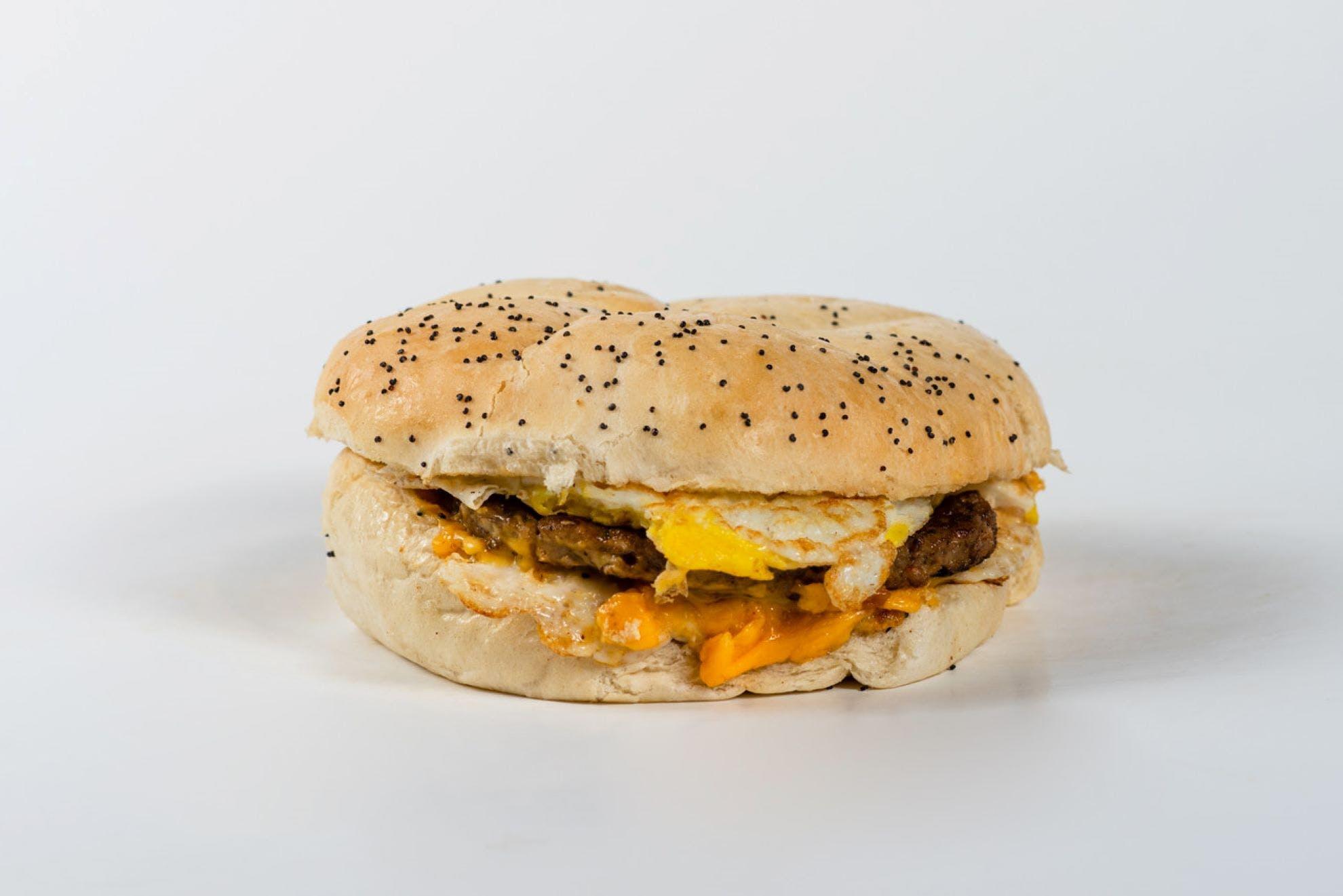 Upstate Breakfast Sandwich from Gandolfo's New York Deli - American Fork in American Fork, UT