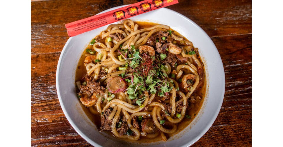 Udon Noodles from Tallgrass Taphouse in Manhattan, KS