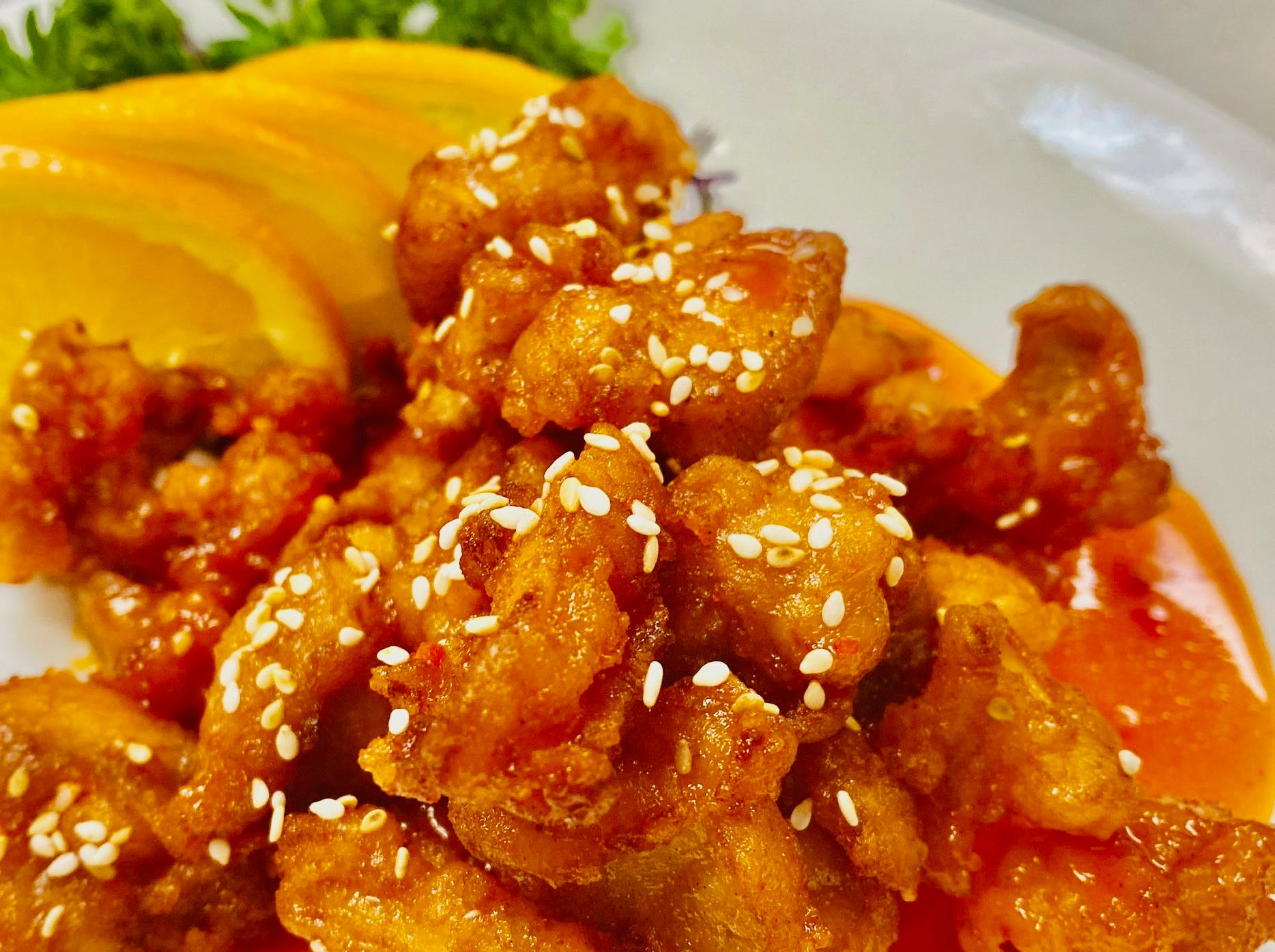 Sesame Chicken Entree from Stir Fry 88 in Green Bay, WI