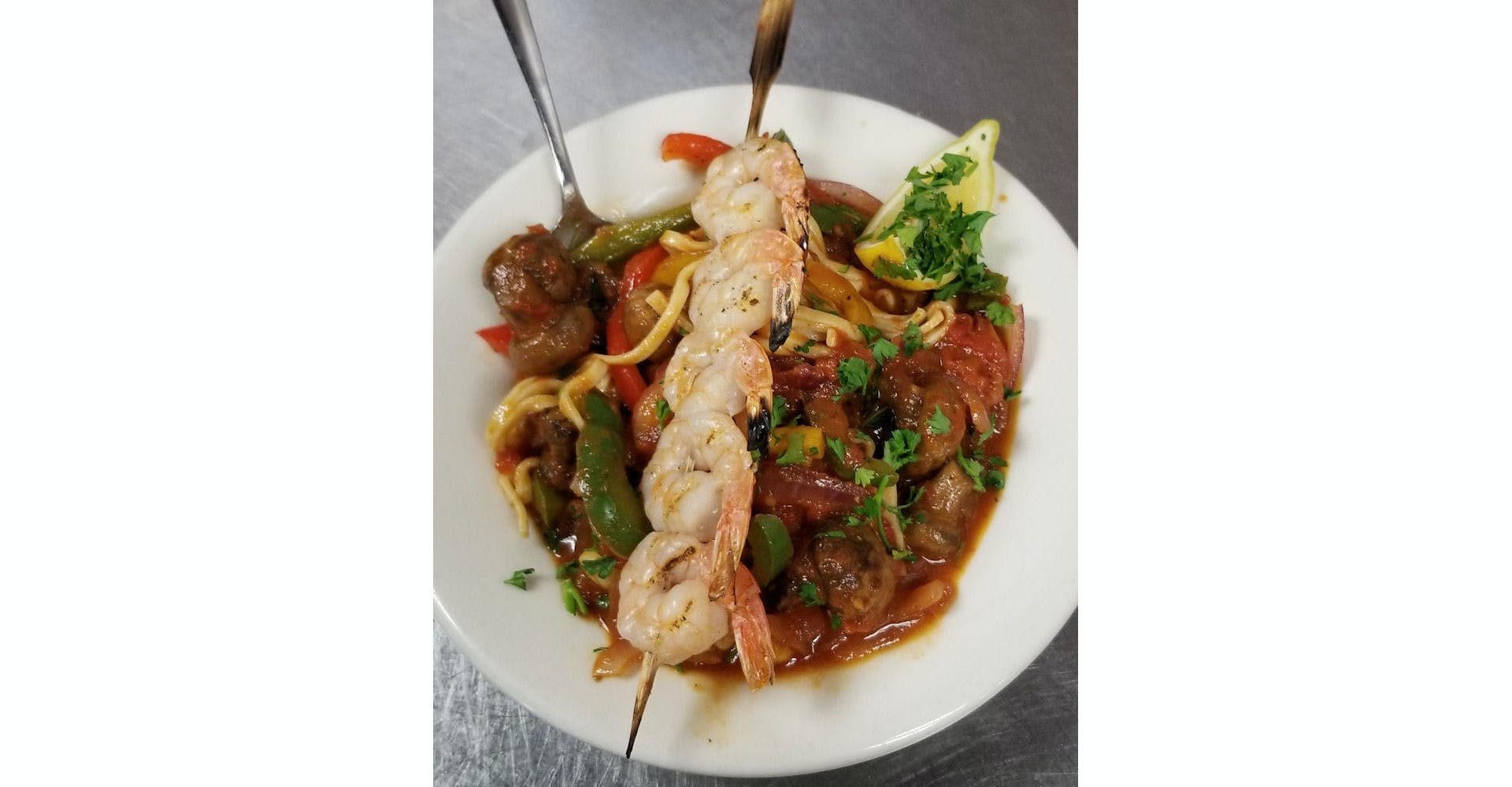 Seafood Pescatore from Grazies Italian Grill in Stevens Point, WI