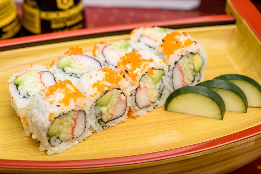 California Roll from Ling's Bistro in Topeka, KS