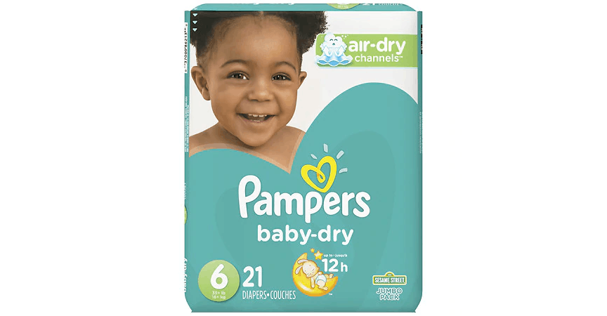 Pampers Baby-Dry Diapers Size 6 (21 ct) from EatStreet Convenience - Shorewood in Shorewood, WI