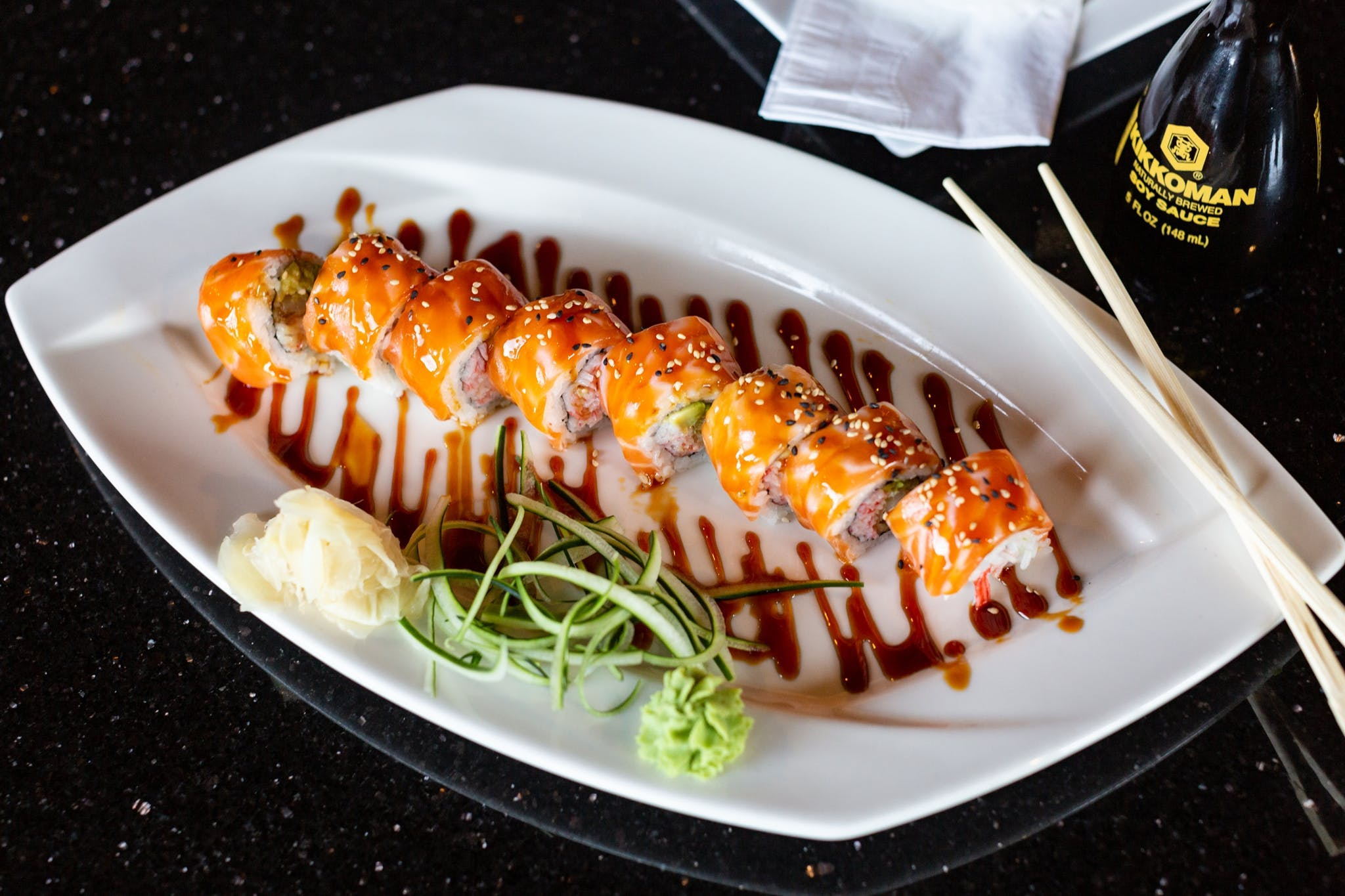 BMW Roll from Oriental Bistro & Grill in Lawrence, KS