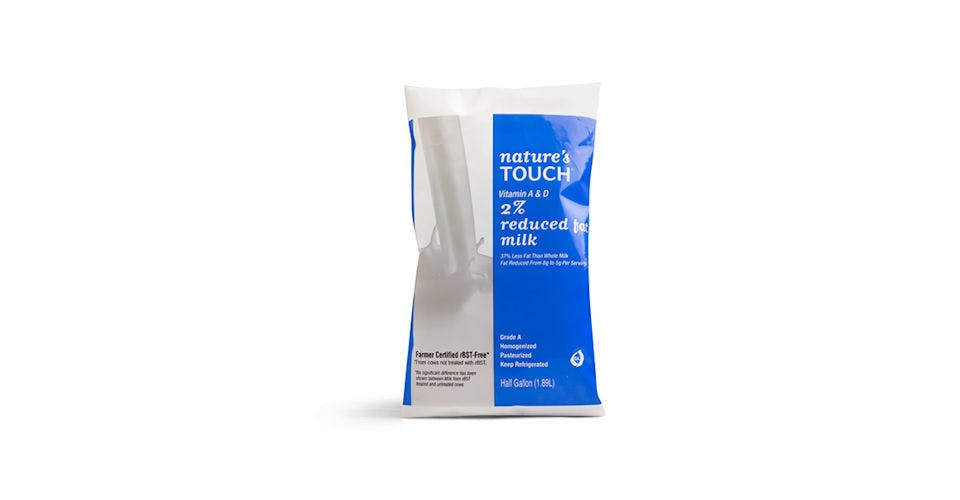 Nature's Touch Milk, 1/2 Gallon Bag from Kwik Trip - Eau Claire Water St in EAU CLAIRE, WI