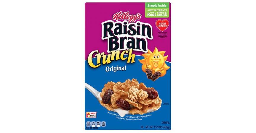 Raisin Bran Breakfast Cereal Original (16 oz) from EatStreet Convenience - SW Wanamaker Rd in Topeka, KS