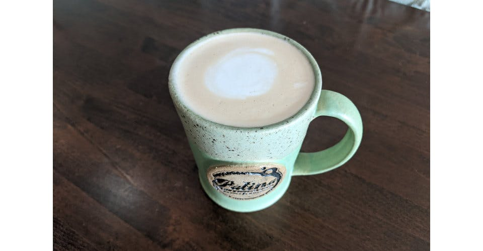 Caf? Au lait from Patina Coffeehouse in Wausau, WI
