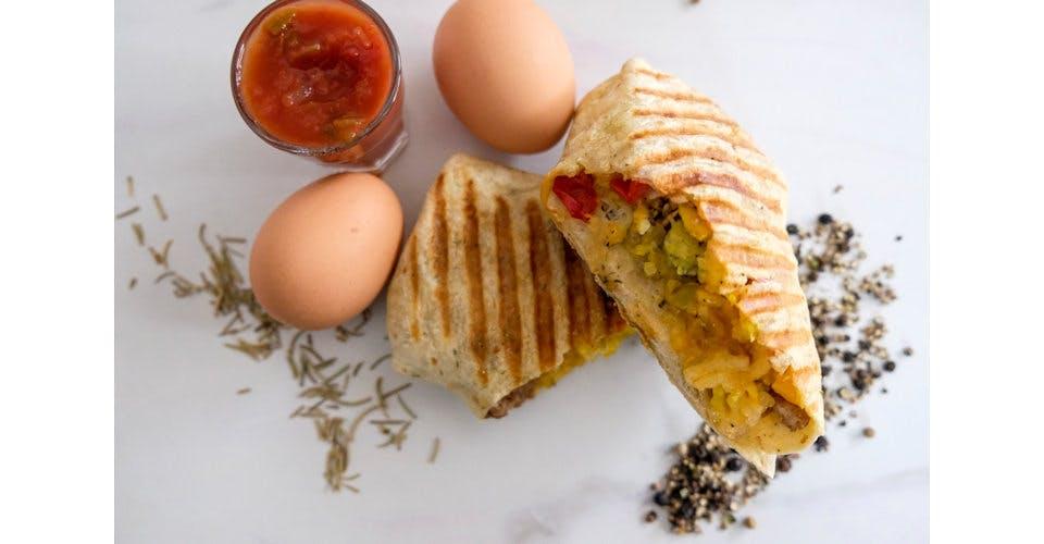 Big Breakfast Burrito from Patina Coffeehouse in Wausau, WI
