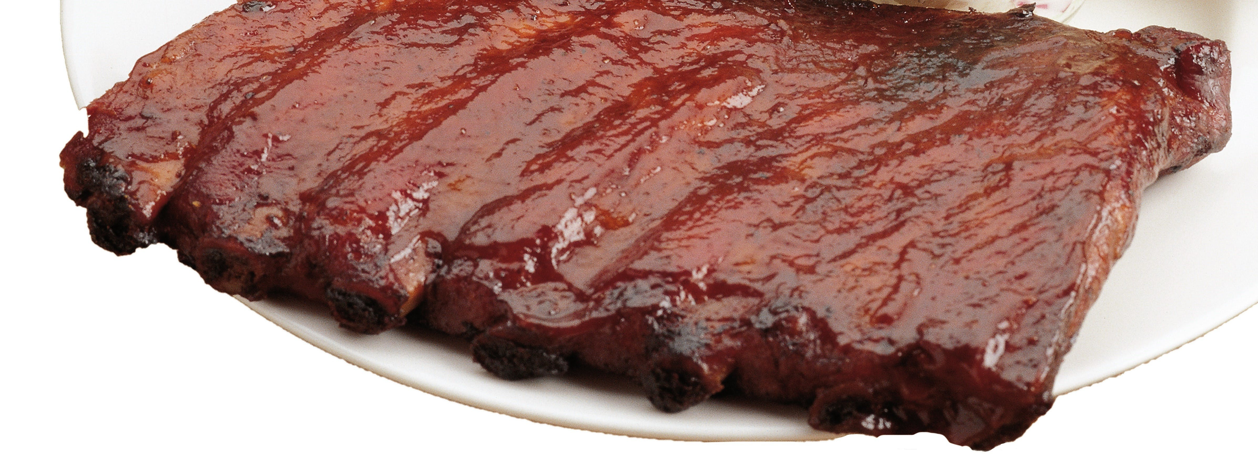 Ribs from Hog Wild Pit BBQ & Catering in Lawrence, KS