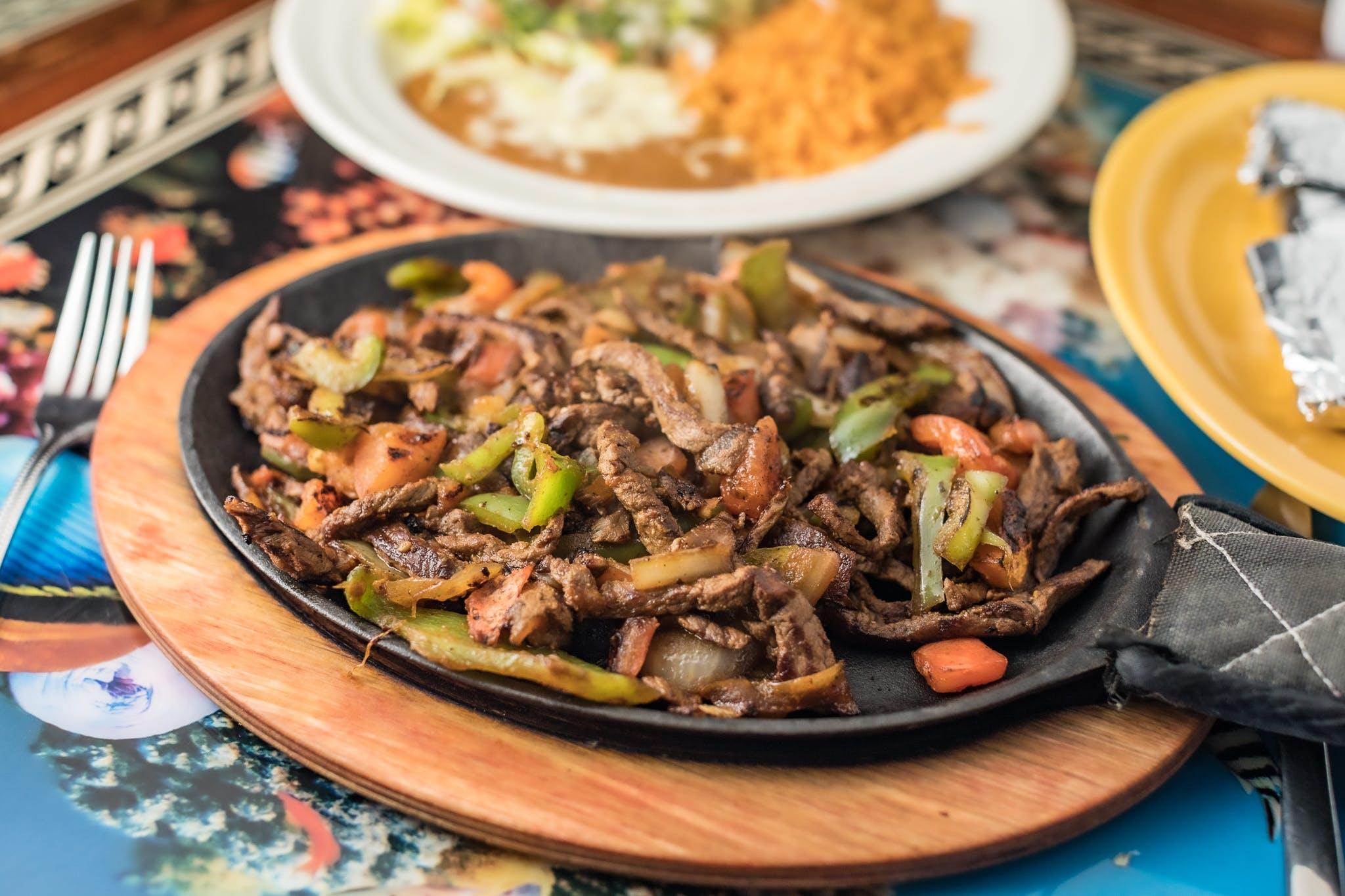 Beef Sirloin Fajita from Casa Vallarta Mexican Restaurant in Eau Claire, WI