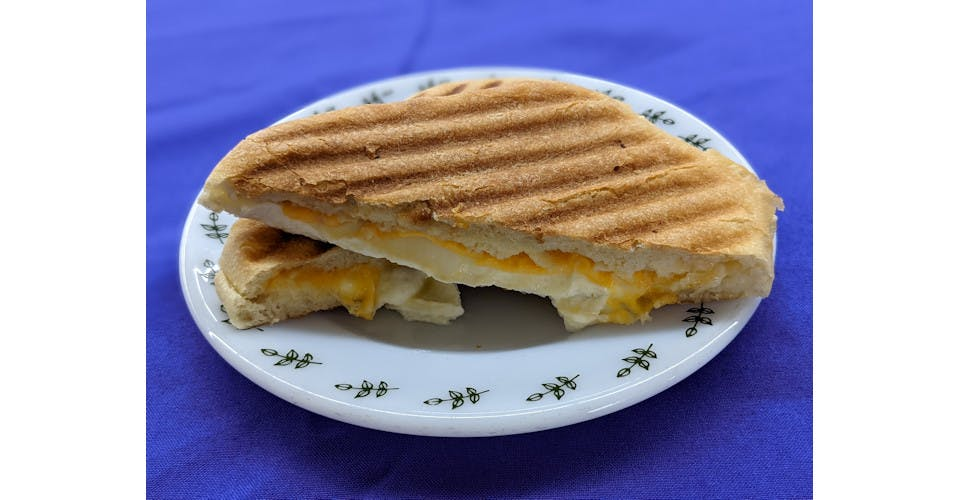 Not So Basic Grilled Cheese Panini from Basics Co-op Cafe in Janesville, WI