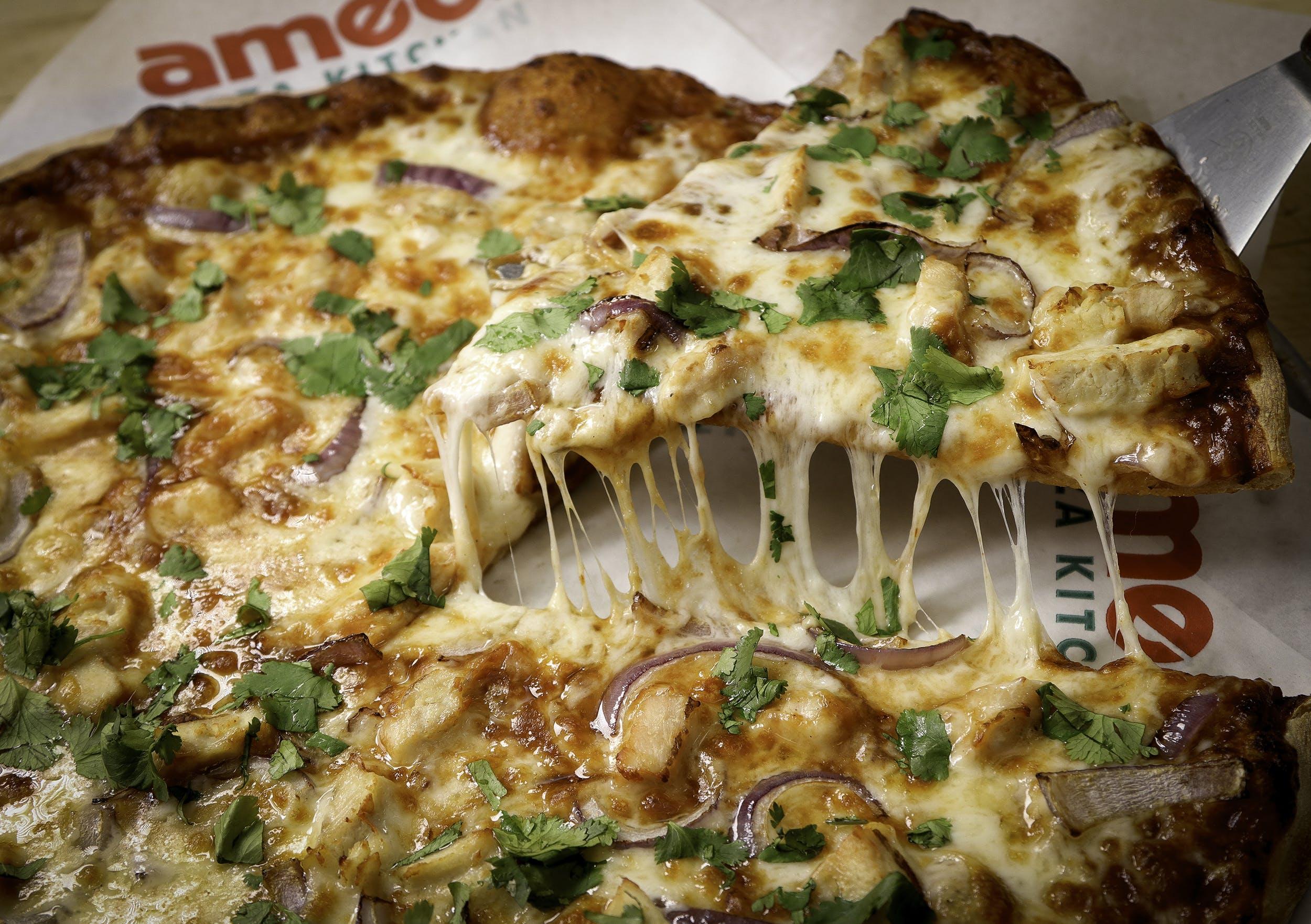BBQ Chicken Pizza from Ameci Pizza & Pasta - Irvine in Irvine, CA