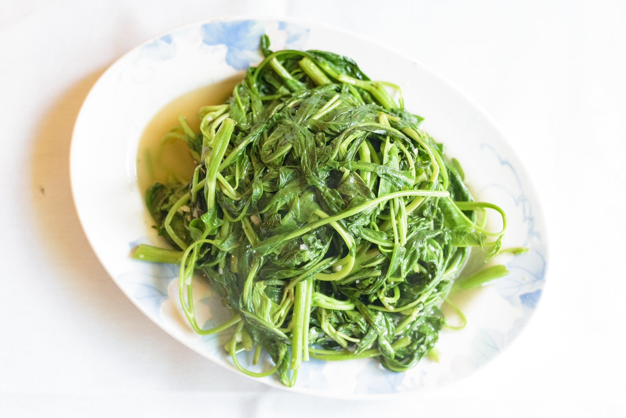 Chinese Watercress with Garlic Sauce from Asian Legend in Ann Arbor, MI