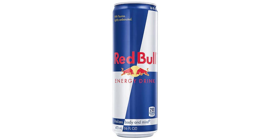Red Bull Energy Drink (16 oz) from EatStreet Convenience - W Mason St in Green Bay, WI