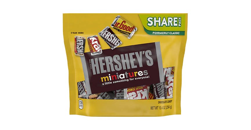 Hershey's Miniatures Chocolate Candy Assorted (10 oz) from EatStreet Convenience - W Mason St in Green Bay, WI