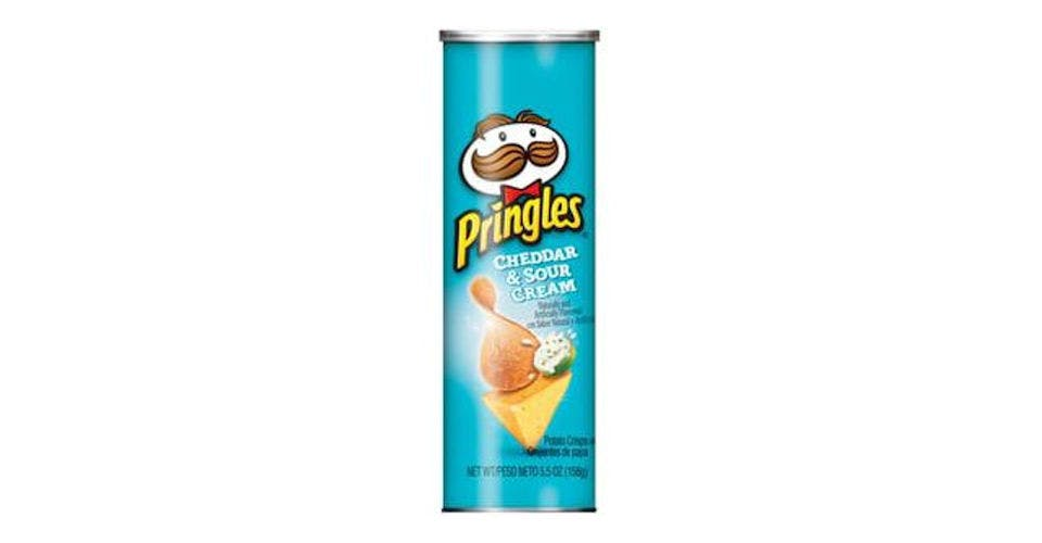 Pringles Cheddar Sour Cream (5.5 oz) from CVS - W Court St in Janesville, WI