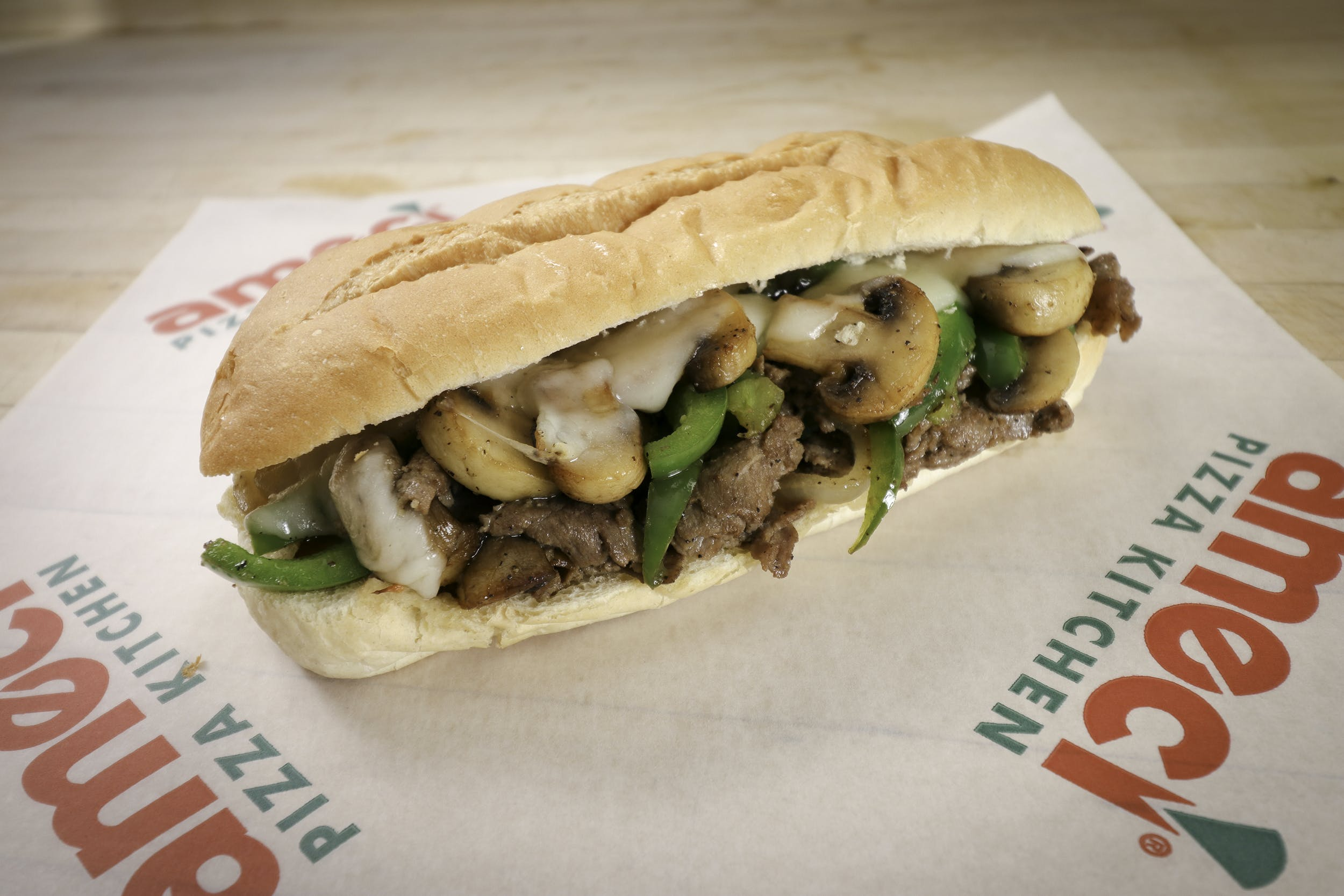 Philly Cheesesteak Sandwich from Ameci Pizza & Pasta - Lake Forest in Lake Forest, CA