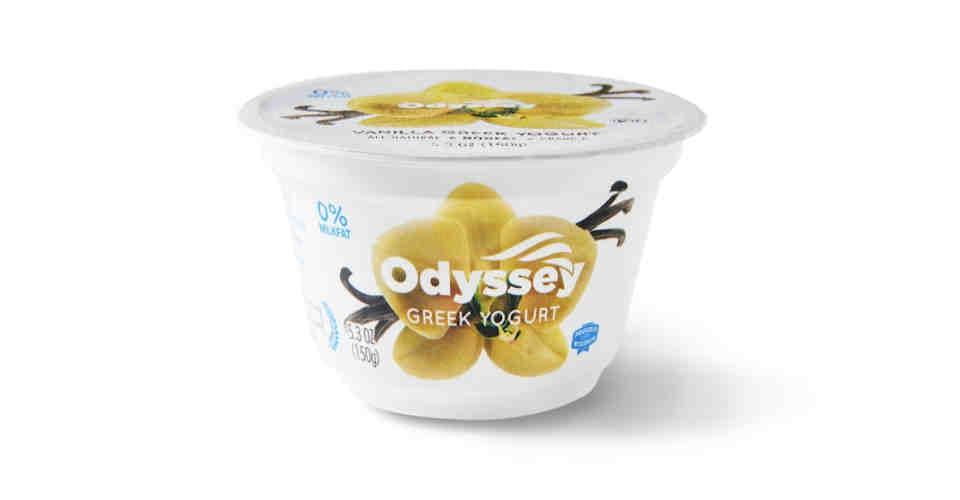 Greek Yogurt Vanilla (5.3 oz) from Vitruvian Farms in Madison, WI