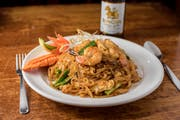 Pad Thai (GF) from Monsoon Siam in Madison, WI