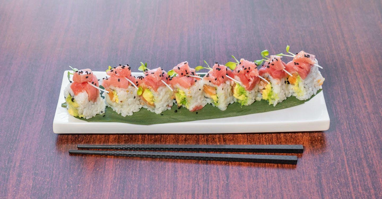 Triple Toro Roll from Sakura Sushi in San Rafael, CA