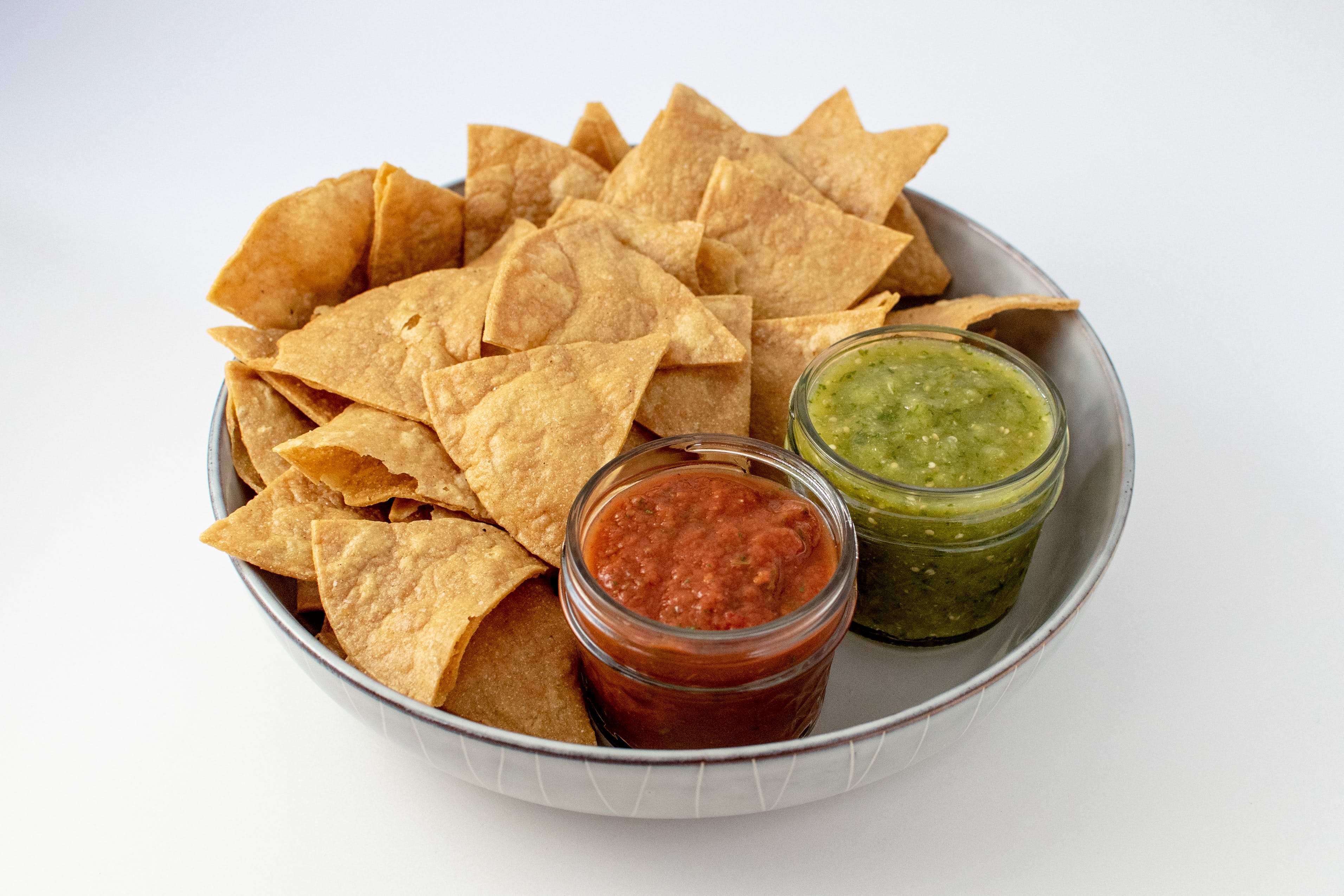 Yellow Corn Tortilla Chips and Salsas from Taco Royale - University Ave in Cedar Falls, IA