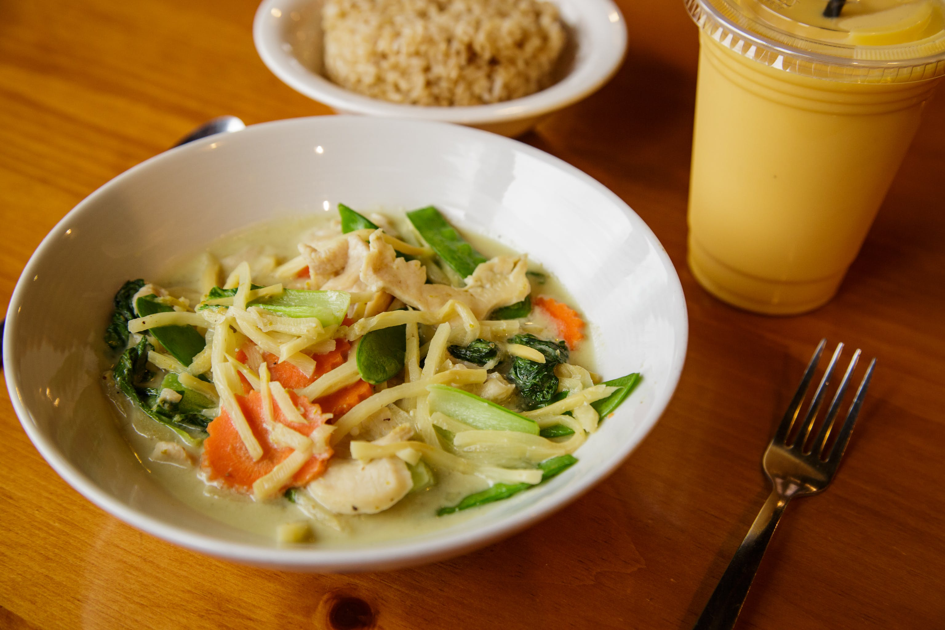 Envy Green Curry*** from Curry Campus in Madison, WI