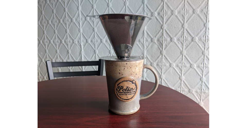 Pour Over from Patina Coffeehouse in Wausau, WI