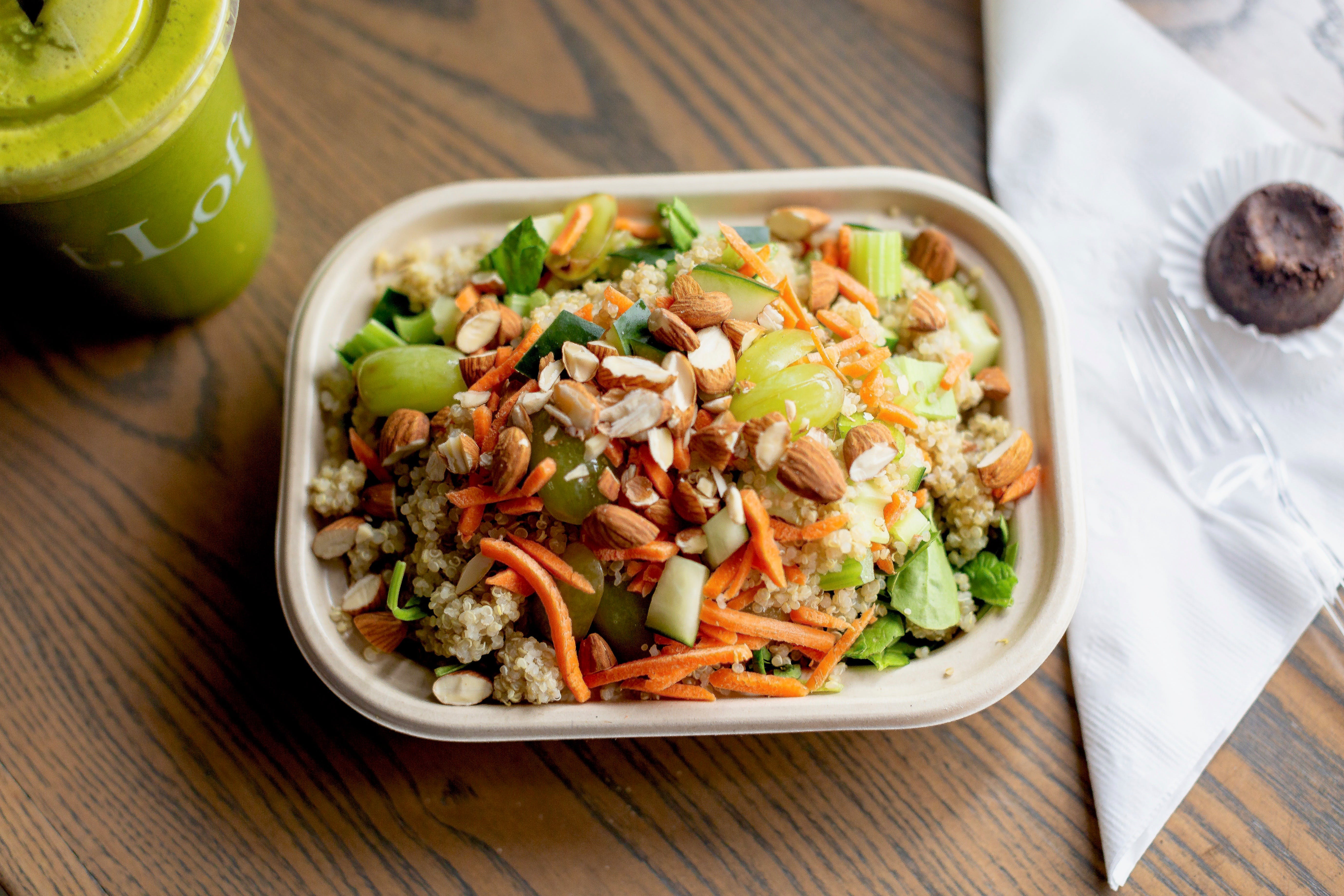 Cleanse Salad (GF, DF) from t. Loft in Lawrence, KS