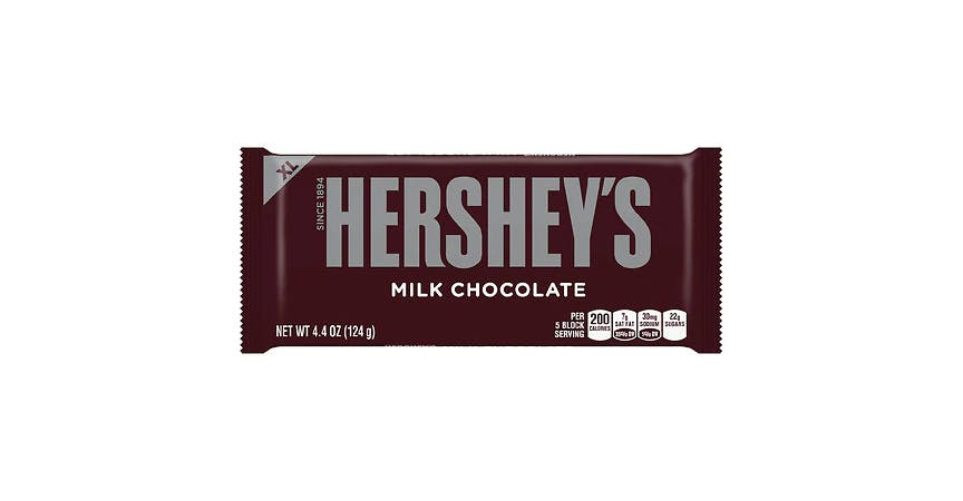 Hershey's Extra Large Chocolate Bar (4 oz) from EatStreet Convenience - W Mason St in Green Bay, WI