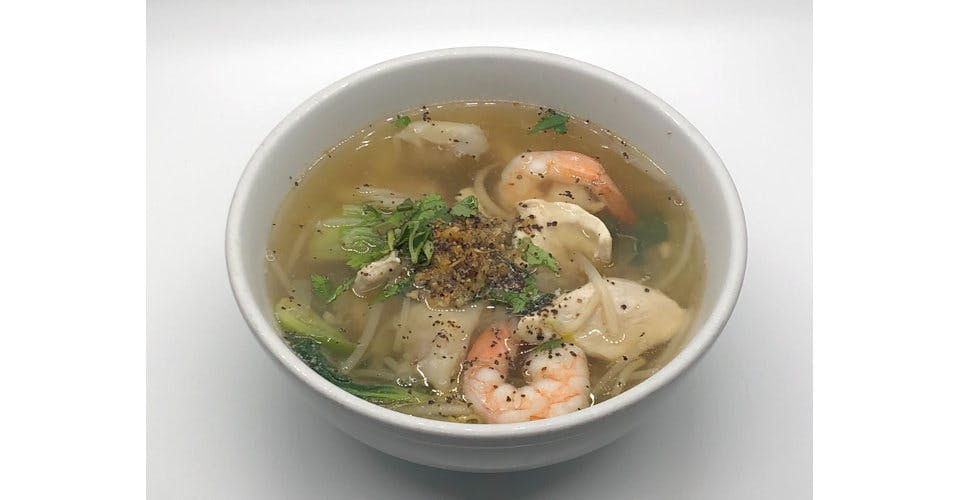 33. Giew Num (Wonton Soup) (Dinner) from Sa-Bai Thong - University Ave in Madison, WI