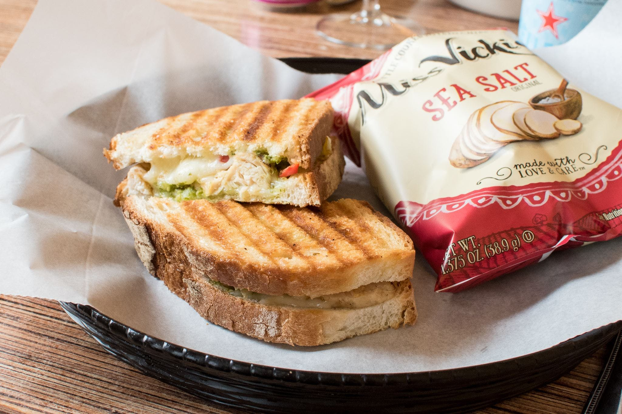 Chicken Panini (Lunch) from Villa Dolce in Middleton, WI