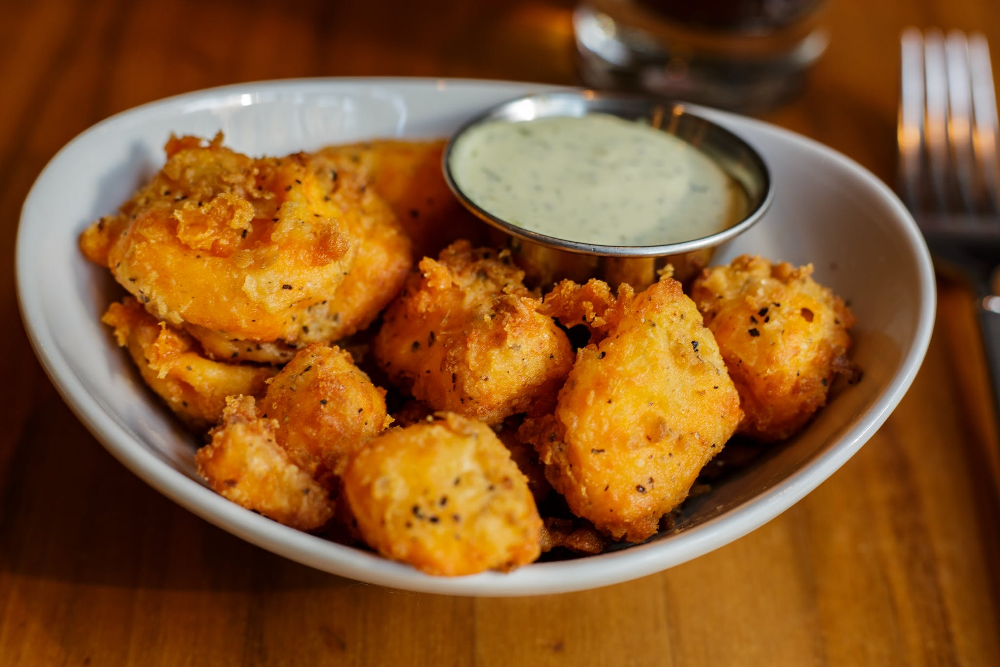 Cheese Curds from DLUX in Madison, WI
