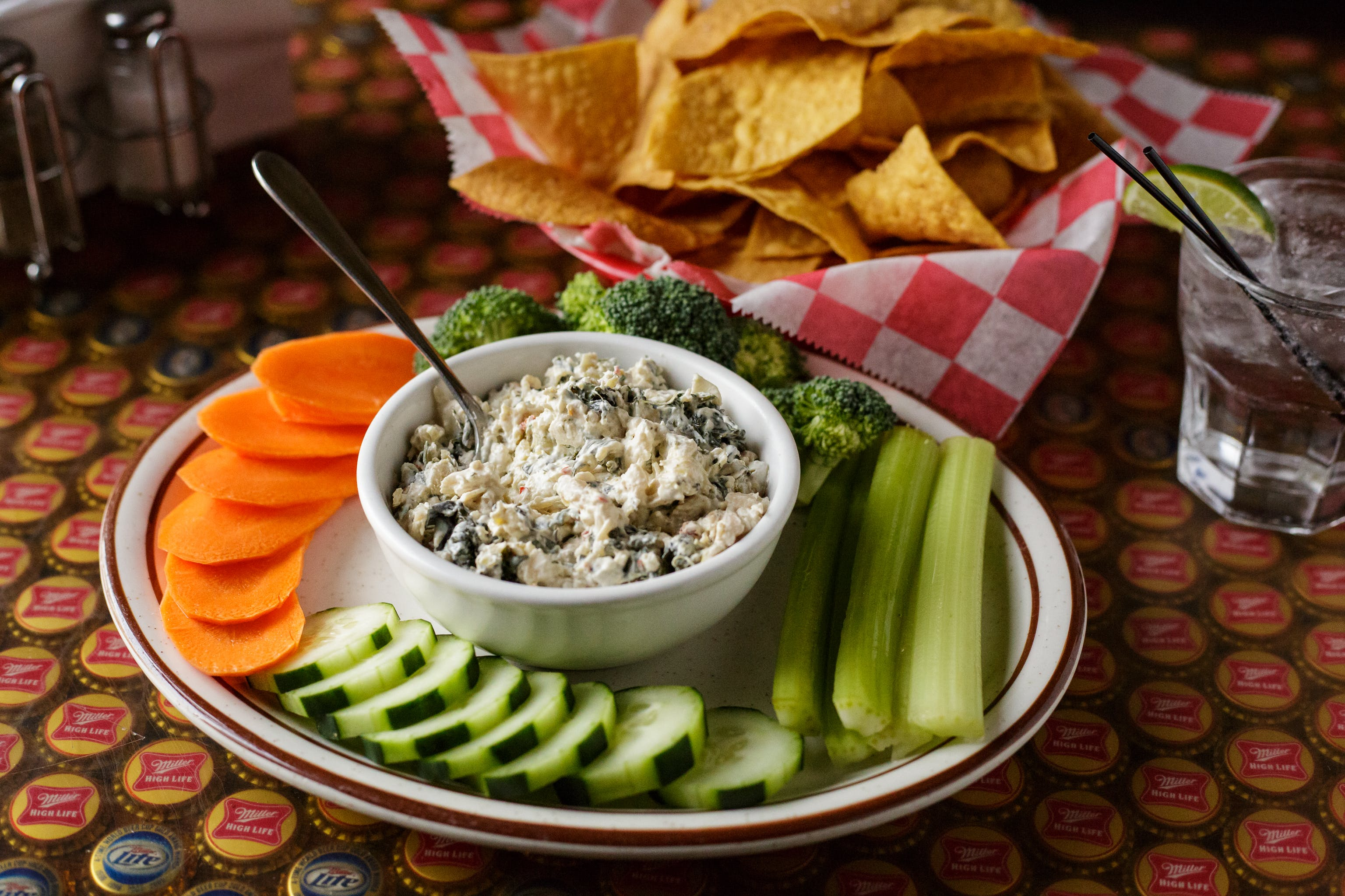 Spinach Artichoke Dip from Vintage Spirits & Grill in Madison, WI