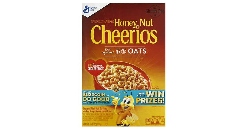 Cheerios Honey Nut Cereal (11 oz) from EatStreet Convenience - SW Gage Blvd in Topeka, KS
