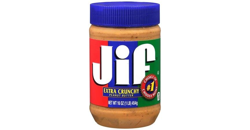 Jif Crunchy Peanut Butter Spread (16 oz) from EatStreet Convenience - W Mason St in Green Bay, WI