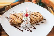 Fried Cheesecake from Los Jaripeos in Oshkosh, WI