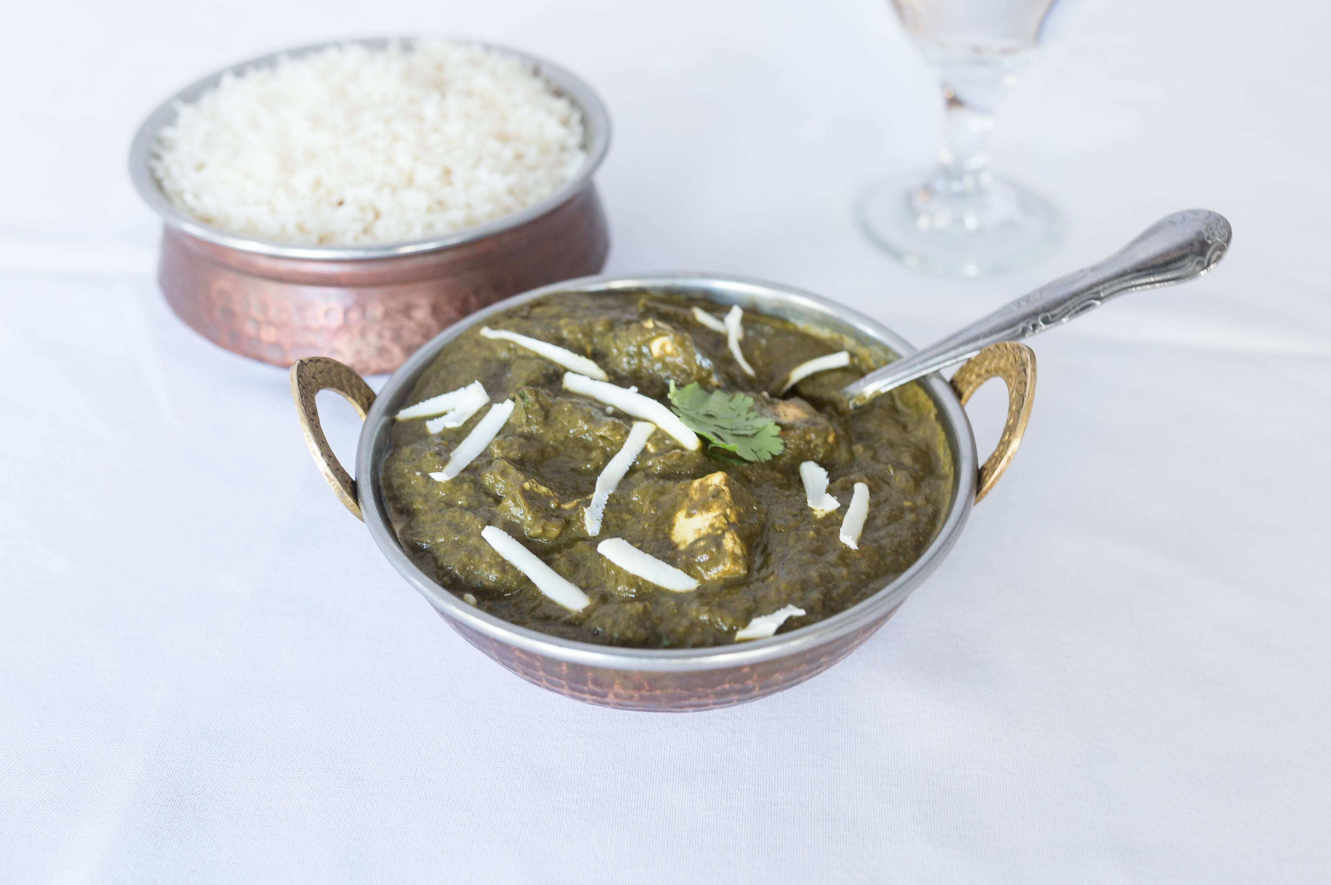 Saag Paneer from Bollywood Grill in Milwaukee, WI