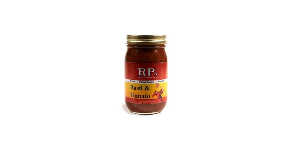 Basil Tomato Pasta Sauce (16 oz) from Vitruvian Farms in Madison, WI