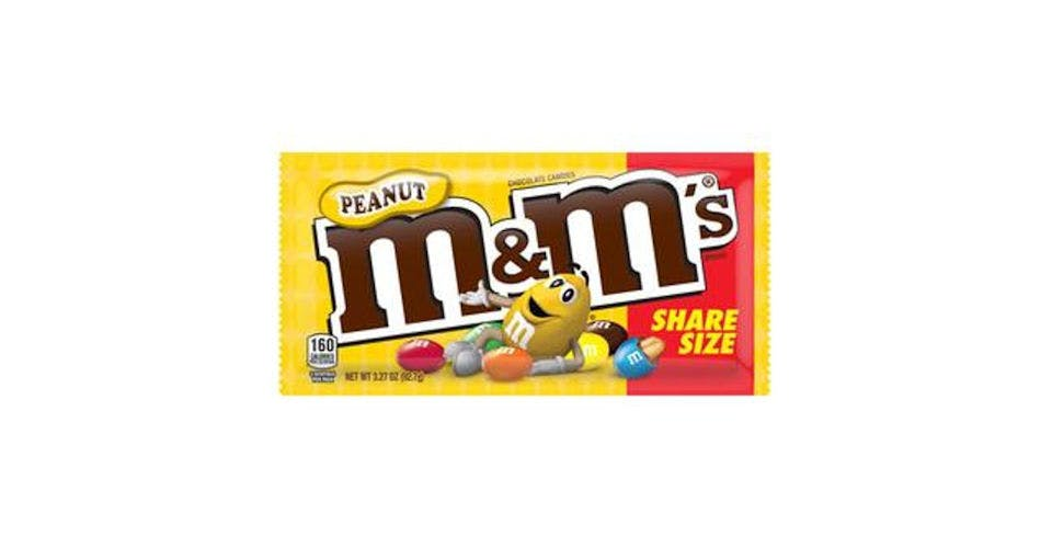 M&M's Peanut Milk Chocolate Candy (3.3 oz) from CVS - Main St in Green Bay, WI