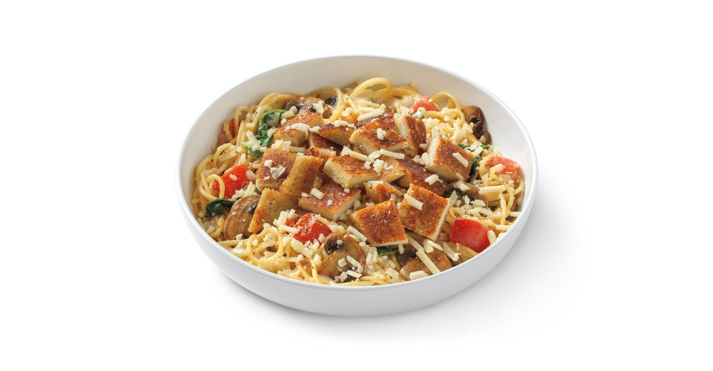 Alfredo MontAmore? with Parmesan-Crusted Chicken from Noodles & Company - Kenosha 118th Ave in Kenosha, WI