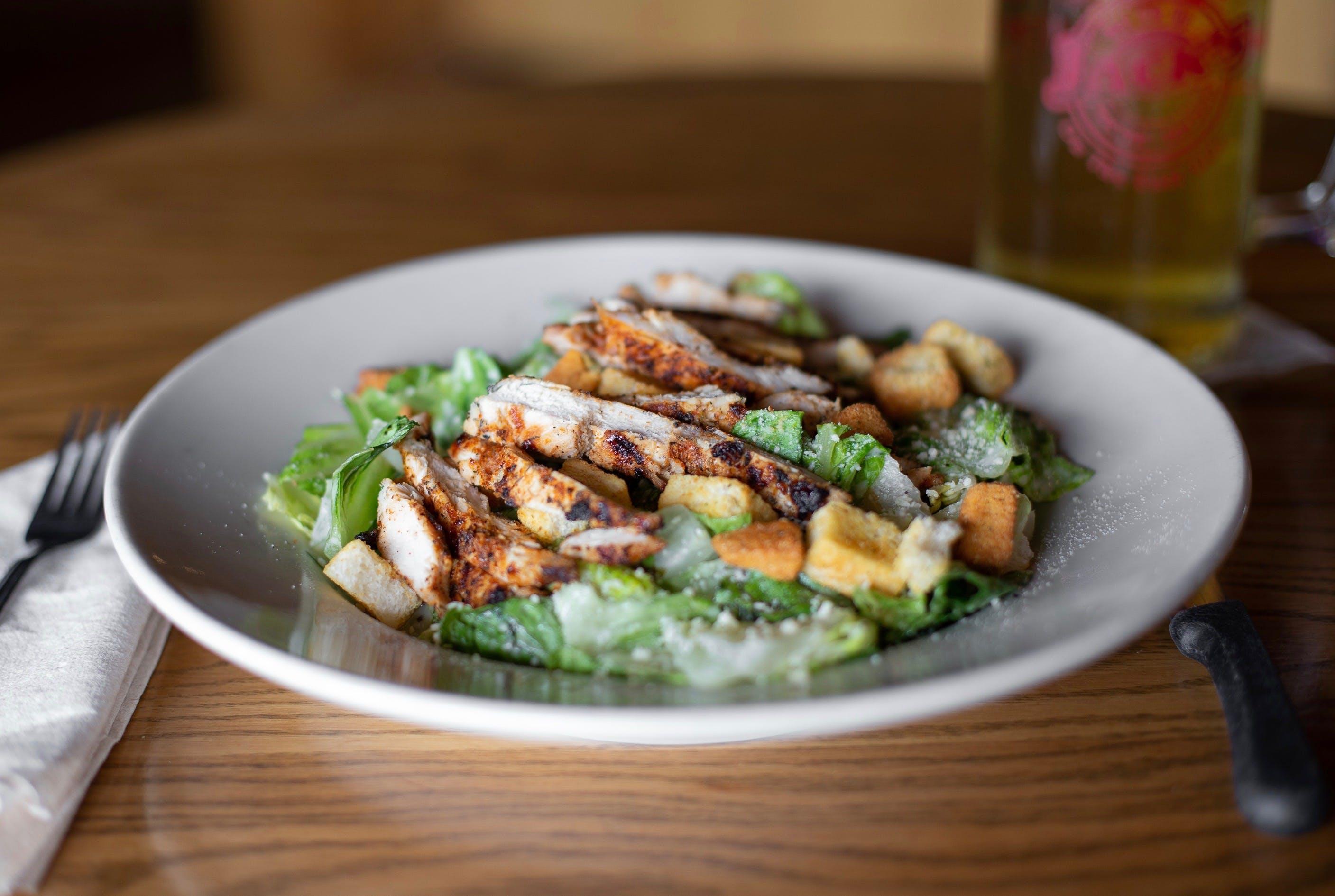 Caesar's Choice Salad from Set'em Up Jacks in Lawrence, KS