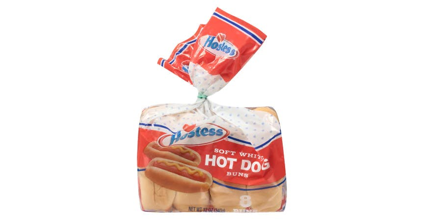 Hostess Hot Dog Buns Soft White (2 oz) from EatStreet Convenience - W Mason St in Green Bay, WI