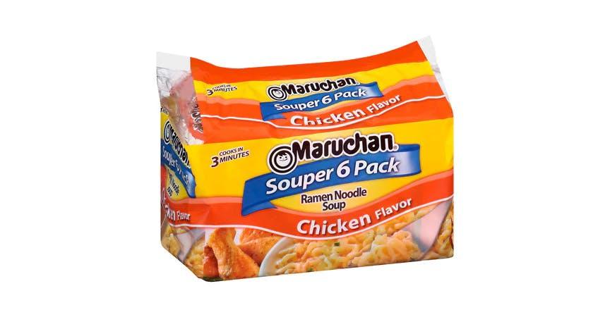 Maruchan Ramen Noodle Soup Chicken Flavor (6 ct) from EatStreet Convenience - SW Wanamaker Rd in Topeka, KS