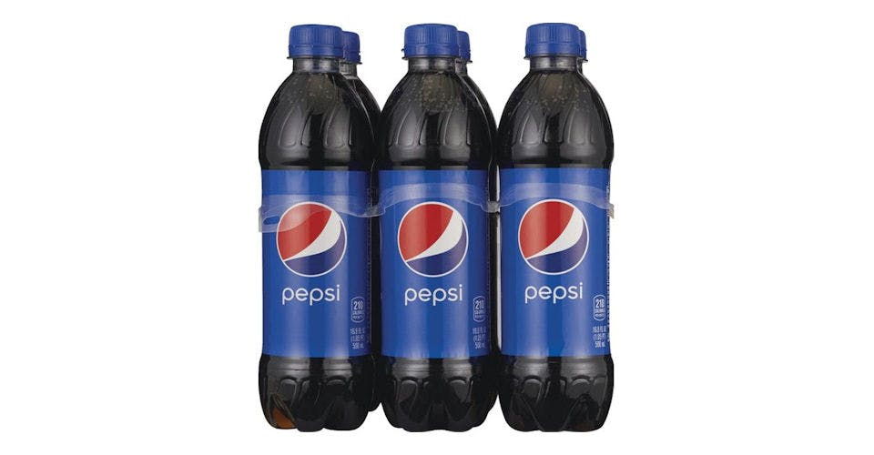 Pepsi Cola Bottles 6 Pack (16.9 oz) from CVS - Main St in Green Bay, WI