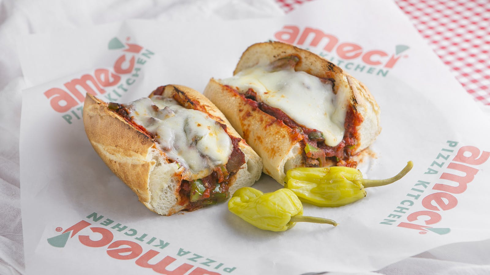 Hot Italian Roast Beef Sandwich from Ameci Pizza & Pasta - Lake Forest in Lake Forest, CA