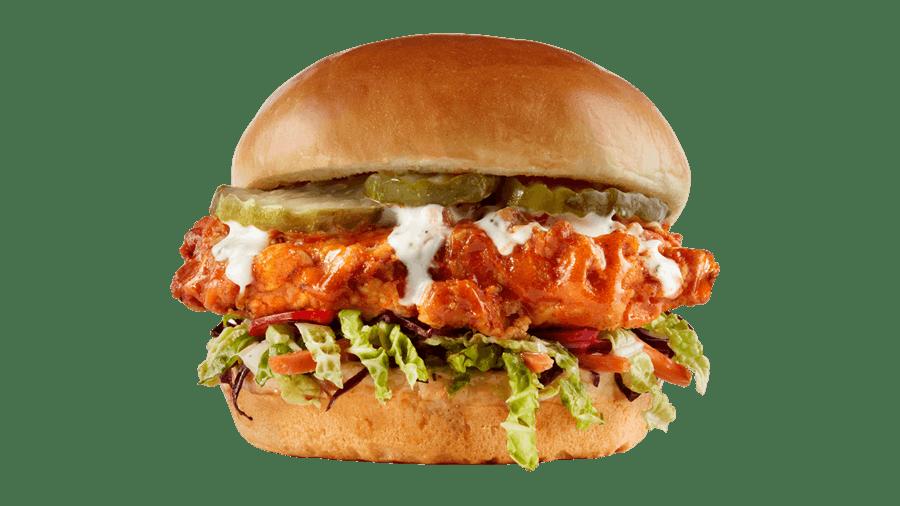 Nashville Hot Chicken Sandwich from Buffalo Wild Wings - Manitowoc in Manitowoc, WI