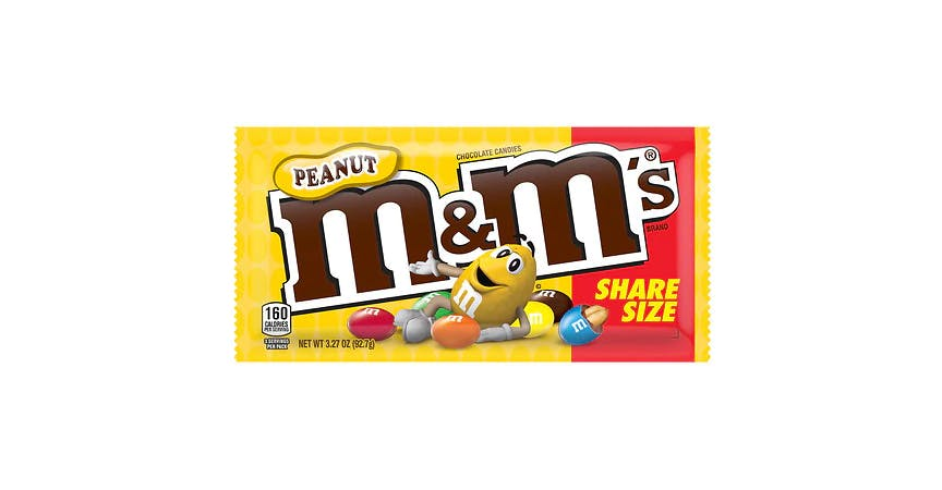 M&M's Chocolate Candies, Share Size Peanut from EatStreet Convenience - W Mason St in Green Bay, WI