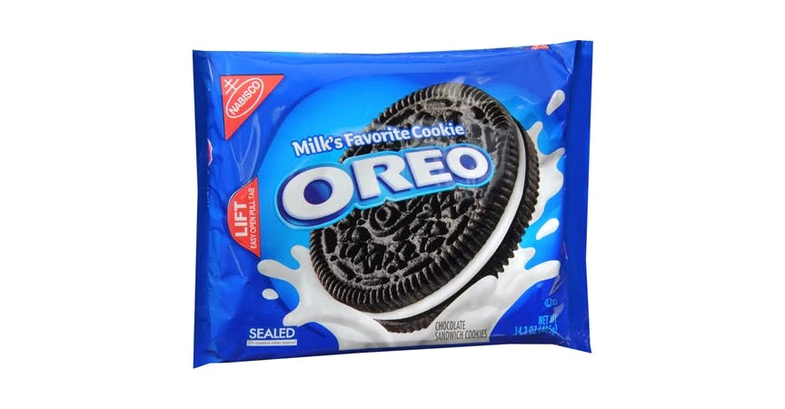 Oreo Creme Sandwich Cookies (14 oz) from EatStreet Convenience - W Mason St in Green Bay, WI